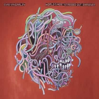 CHAD VANGAALEN World's Most Stressed Out Gardener - Vinyl LP (transparent gold marble black)