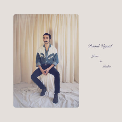 RAOUL VIGNAL Years in Marble - Vinyl LP (creamy white marble)
