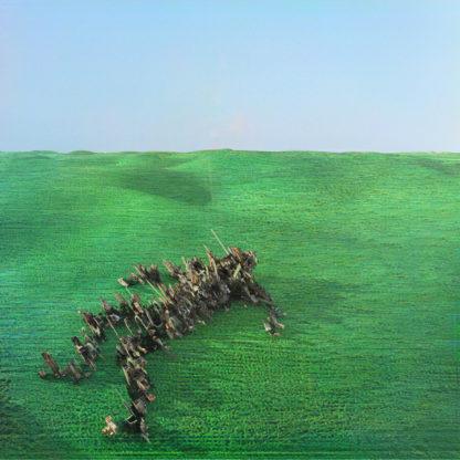 SQUID Bright Green Field - Vinyl 2xLP (green)