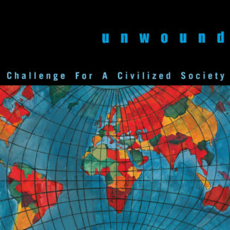 UNWOUND Challenge For A Civilized Society - Vinyl LP (transparent blue with splatters | black)