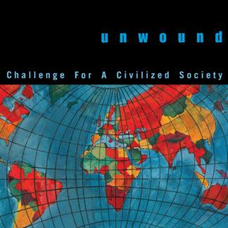 UNWOUND Challenge For A Civilized Society - Vinyl LP (transparent blue with splatters | black)
