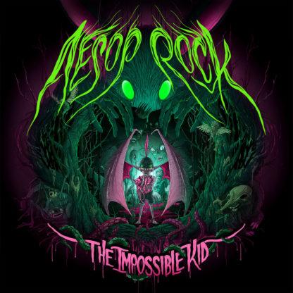 AESOP ROCK The Impossible Kid - Vinyl 2xLP (neon green & neon pink)