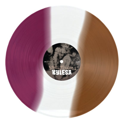 KYLESA Static Tensions - Vinyl LP (purple transparent brown striped)