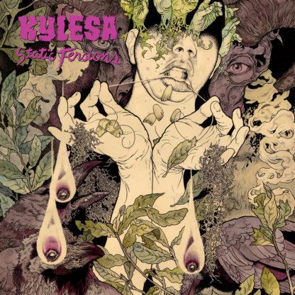 KYLESA Static Tensions - Vinyl LP (transparent purple splatter purple transparent brown striped black)