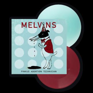 "MELVINS Pinkus Abortion Technician - Vinyl 2x10"" (oxblood / electric blue)"