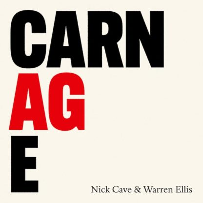 NICK CAVE & WARREN ELLIS Carnage - Vinyl LP (black)