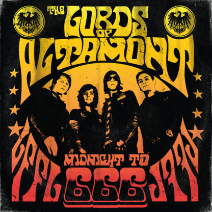 THE LORDS OF ALTAMONT Midnight to 666 - Vinyl LP (gold black)