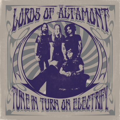 THE LORDS OF ALTAMONT Tune In, Turn On, Electrify! - Vinyl LP (neon magenta black)