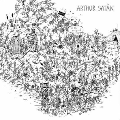 ARTHUR SATAN So Far So Good - Vinyl LP (white)
