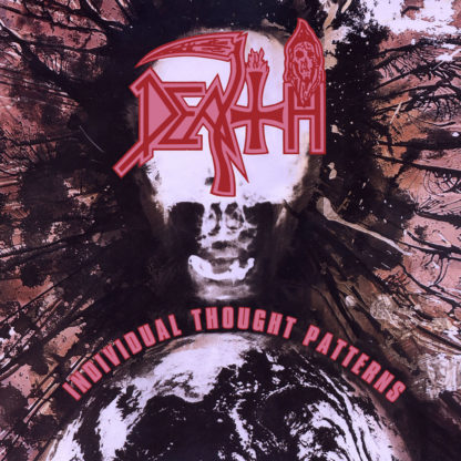 DEATH Individual Thought Patterns - Vinyl LP (Milky Clear with Baby Pink Butterfly Wings and Red, Black and Brown Splatter)