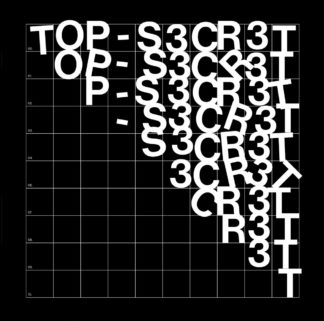 TOP SECRET S/t - Vinyl LP (black)