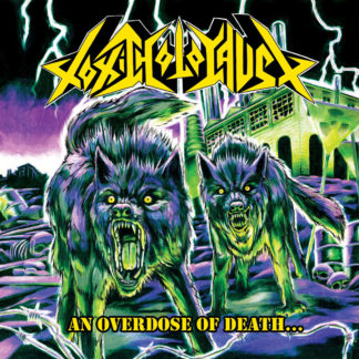 TOXIC HOLOCAUST An Overdose Of Death - Vinyl LP (Neon Yellow, Neon Green and Neon Violet Striped)