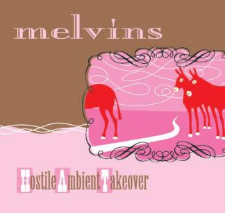 MELVINS Hostile Ambient Takeover - Vinyl LP (baby pink)