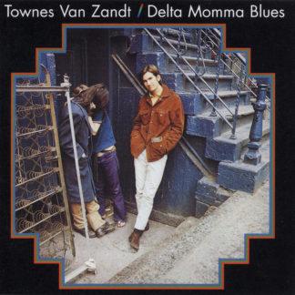TOWNES VAN ZANDT Delta Momma Blues - Vinyl LP (black)