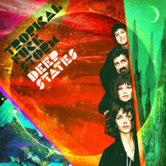 TROPICAL FUCK STORM Deep States - Vinyl LP (orange)
