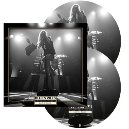 BLUES PILLS Lady in gold - Live in Paris - Vinyl 2xLP (picture disc)