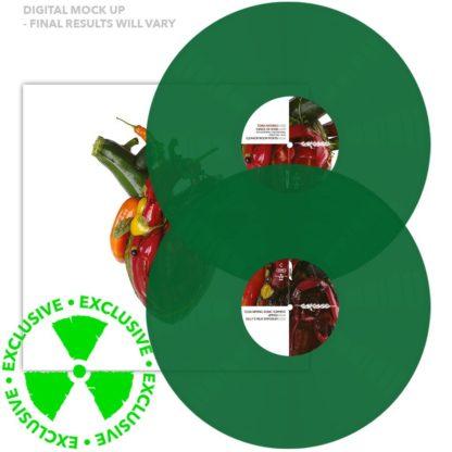 CARCASS Torn arteries - Vinyl 2xLP (green)