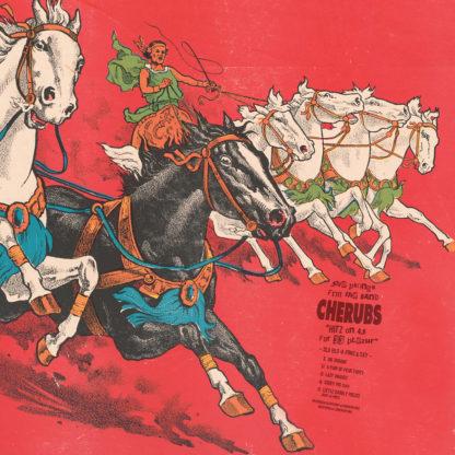 CHERUBS SLO BLO 4 FRNZ & SXY - Vinyl LP (blood red)