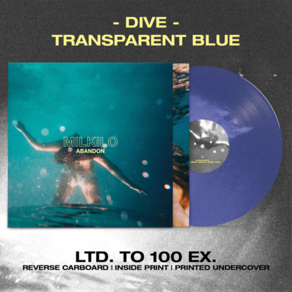 MILKILO Abandon - Vinyl LP (transparent blue)