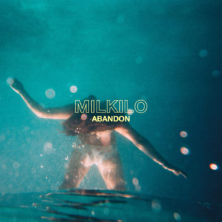 MILKILO Abandon - Vinyl LP (transparent blue clear with yellow and blue splatters)
