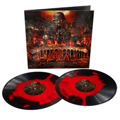 SLAYER The Repentless Killogy (live at the forum in inglewood ca) - Vinyl 2xLP (red black inkspot)