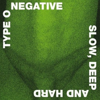 TYPE O NEGATIVE Slow, Deep And Hard - Vinyl 2xLP (green with black marble)